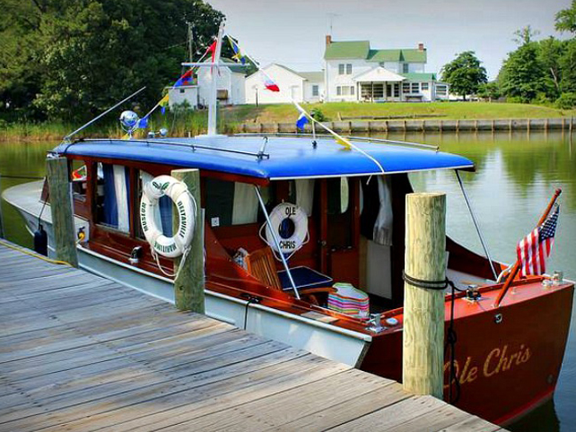 Ole Chris_Annual Wooden Boat_Show_Beaufort_NC