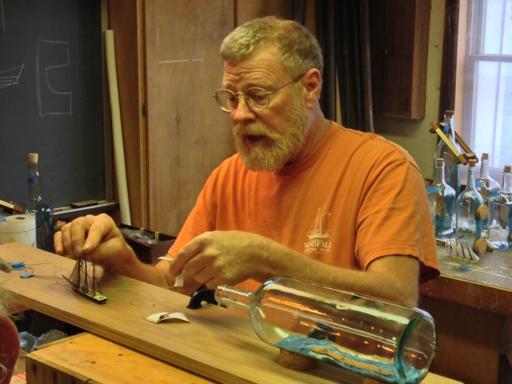 how to make a boat in a bottle