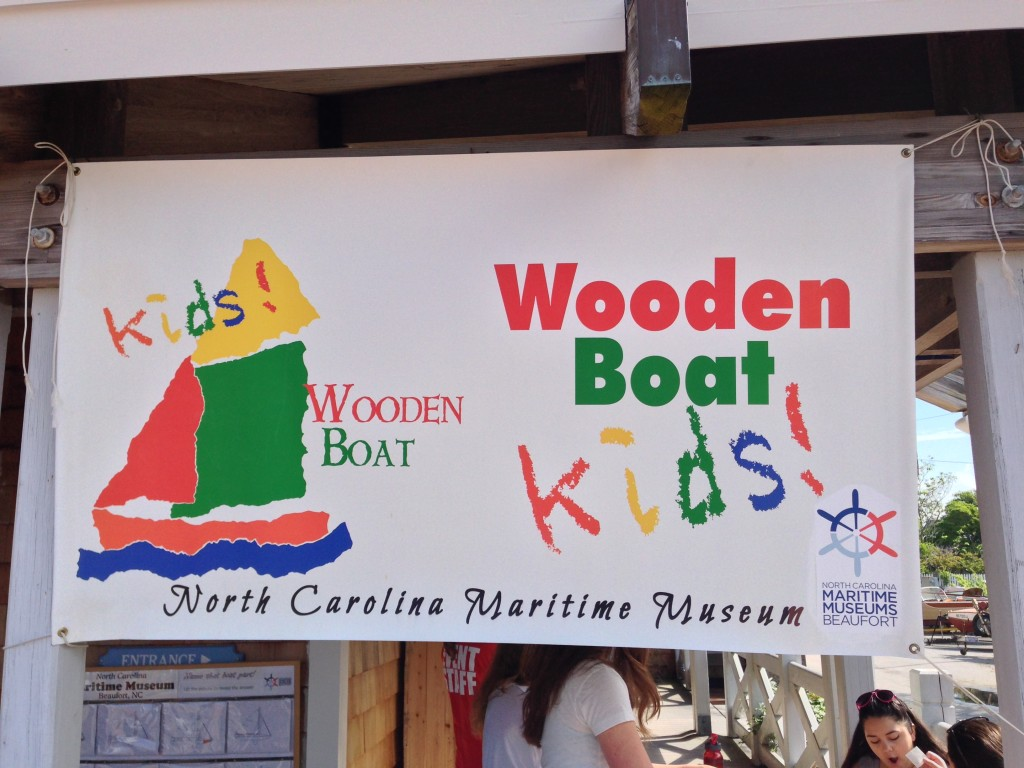 Wooden Boat_Kids_North_Carolina_Maritime_Museum_Beaufort_NC